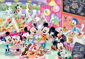 TEN-DC60-115 ディズニー アイスクリームショップでさがそう!(ミッキー・ミニー) 60ピース パズル Puzzle 子供用 幼児 知育玩具 知育パズル 知育 ギフト 誕生日 プレゼント 誕生日プレゼン