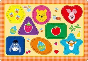 TEN-DC08-132 ディズニー プーさん だいすき(くまのプーさん) 8ピース パズル Puzzle 子供用 幼児 知育玩具 知育パズル 知育 ギフト 誕生日 プレゼント 誕生日プレゼント