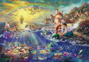 TEN-D1000-489 ディズニー The Little Marmaid(リトル・マーメイド) 1000ピース [CP-D] パズル Puzzle ギフト …