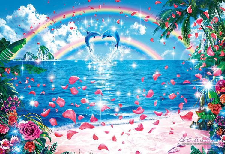 【あす楽】 EPO-31-708 ラッセン フラワー オブ パラダイス 1053スーパースモールピース [CP-L] パズル Puzzle ギフト 誕生日 プレゼント 誕生日プレゼント