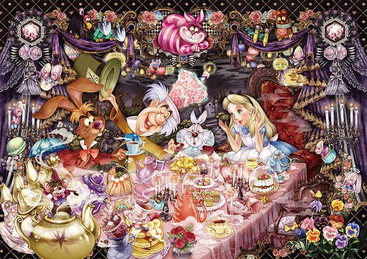 TEN-DW1000-004 ディズニー  醒めない夢のティーパーティ—(不思議の国のアリス) 1000ピース [CP-D] パズル Puzzle ギフト 誕生日 プレゼント 誕生日プレゼント