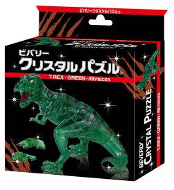 BEV-50227 クリスタルパズル T-REX・グリーン 49ピース