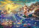 TEN-D2000-626 ディズニー The Little Mermaid (リトル・マーメイド) 2000ピース [CP-D]