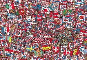 BEV-M81-725 ウォーリー Where's Wally?せいだいなパーティ 1000ピース パズル Puzzle マイクロピース ギフト 誕生日 プレゼント 誕生日プレゼント
