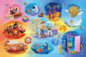 EPO-97-003 ディズニー Disney・Pixer Collection(ディズニー・ピクサーコレクション)  1000ピース [CP-PD] パズル デコレーション パズデコ Puzzle Decoration 布パズル ギフト プレゼント