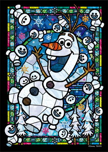 TEN-DSG266-967 ディズニー オラフ ステンドグラス(アナと雪の女王) 266ピース パズル Puzzle ギフト 誕生日 プレゼント