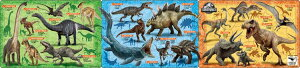 【あす楽】 APO-24-151 ジュラシック・ワールド 恐竜大図鑑 18+24+32ピース パズル Puzzle 子供用 幼児 知育玩具 知育パズル 知育 ギフト 誕生日 プレゼント 誕生日プレゼント