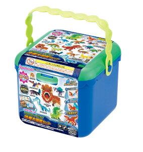 【あす楽】 AQ-E01 アクアビーズ 5000ビーズバケツ 恐竜大図鑑セット [CP-AQ] 誕生日 プレゼント 子供 ビーズ 女の子 男の子 5歳 6歳 ギフト