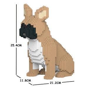 JEKCA ジェッカブロック フレンチ・ブルドッグ 04S-M01 Sculptor ST19FB04-M01
