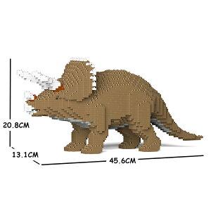 JEKCA ジェッカブロック 恐竜 トリケラトプス 01S-M02 Sculptor ST19DN01-M02