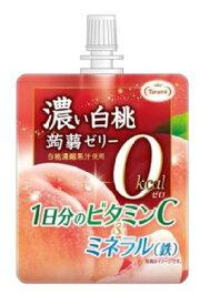 たらみ 濃い白桃0kcal蒟蒻ゼリー(1箱 6個入)