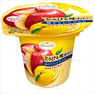 たらみ とろける味わい 柚子りんごジュレ(1箱 6個入)