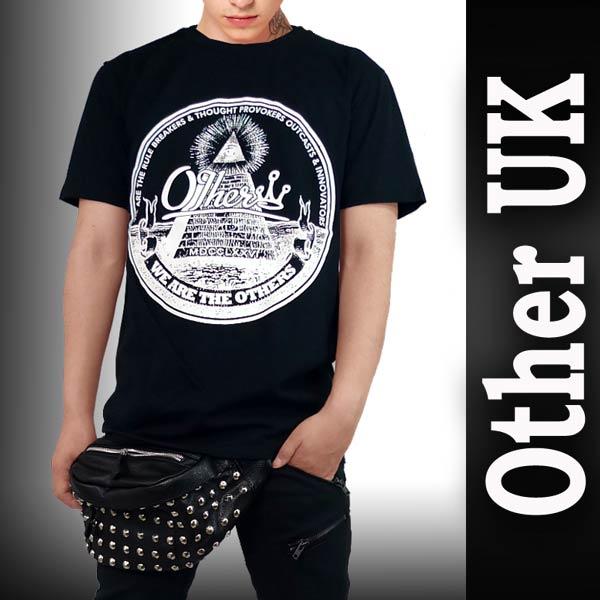 ストリート tシャツ ロックtシャツ バンドtシャツ Other UK パンク ロック ファッション スケーター tシャツ フリーメイソン 半袖 tシャツ 黒 ロック ファッション ロック系 パンク ロック ファッション ストリート系 ファッション