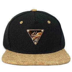HATERヘイタースナップバックブラック×コルクキャップメンズベースボールキャップパンクロックストリートブランドファッションニットキャップファッション帽子ぼうしかっこいいユニセックスレディースカップルお揃いペアルック