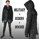ミリタリージャケット コート モード ジャケット ブルゾン コート メンズコート ハーフコート アウター メンズ パン…