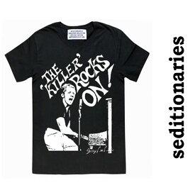 666からseditionaries(セディショナリーズ)THE KILLER ROCK'S ON ブラック ロックtシャツ バンドtシャツ シドヴィシャス セックスピストルズ ロックファッション パンクファッション tシャツ おしゃれ かっこいい 秋 冬 春 夏