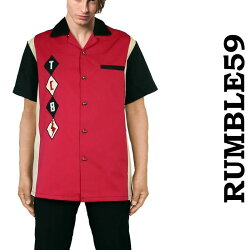 rumble59ボーリングシャツ
