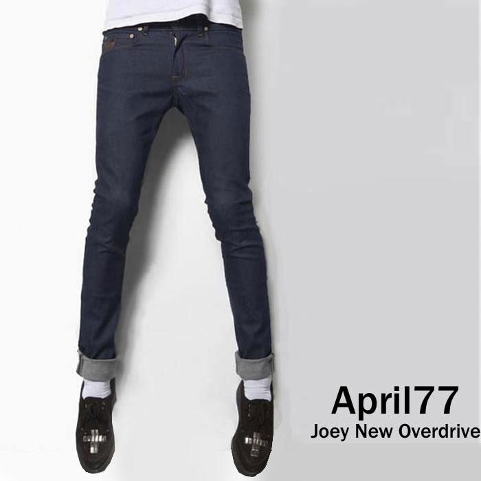 april77 APRIL77(エイプリル77)スキニージーンズ April 77 joey new overdrive (スキニー デニム スキニーパンツ メンズ ジーンズ)スキニーデニム パンク ロック ファッション メンズ スキニー パンツ スリム/ロカビリー モード系 ヘビメタ