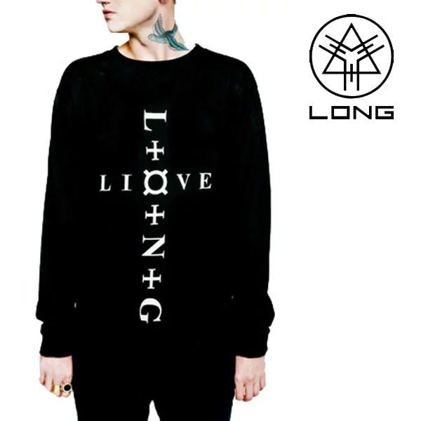 long clothing ロングクロージング command Tシャツ 長袖 パンク ロック ファッション boy london ボーイロンドン BOYLONDON ビッグtシャツ ブラック メンズ ヘビメタ モード系 ロング丈 long clothing   春