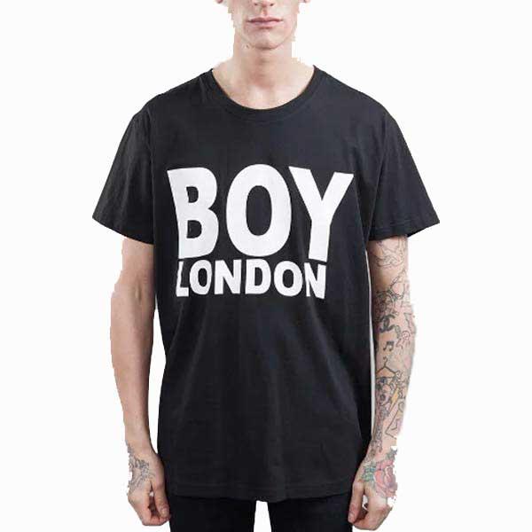 BOYLONDON(ボーイロンドン)ビックtシャツ メンズ BOYロゴTシャツ ロックファッション パンクファッション ロックt パンクt ロックテイスト パンクテイスト ユニセックス Tシャツ メンズ ロックブランド ビックt BOY LONDON 春コーデ