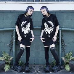 LONG×MISHKAミシカ、目玉Tシャツ