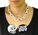 ネックレス CHEAP MONDAY(チープマンデー)オーバーサイズ(極太、どデカ)チェーン ネックレス ネックレス チョーカー パンク ロック ファッション ...