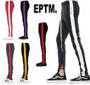 eptm エピトミ トラックパンツ 裾ジップ スウェットパンツ スエットパンツ EPTM ライン パンツ スキニー メンズ レディース eptm−trac…