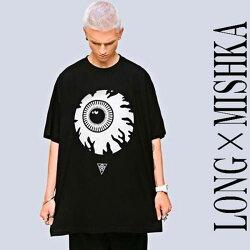 LONGCLOTHING×MISHKA、目玉Tシャツ