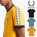 フレッドペリー サイドライン Tシャツ FRED PERRY ロゴ スポーツウェアー 月桂樹 メンズ トップス ストリート ロック パンク ファッシ…