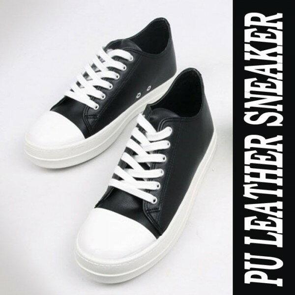 フェイクレザー スニーカー ブラック メンズ スニーカー シューズ ローカット 靴 ブラック スニーカー レザー 靴 ロックファッション モード パンクファッション  ストリート パンク ロック ファッション モード系メンズ おしゃれ かっこいい