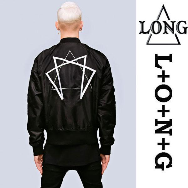 LONG CLOTHING ロングクロージング ENNEAGRAM グラフィック MA-1 ジャケット ロック パンク ファッション ユニセックス BOY LONDON ボーイロンドン ビックシルエット ミリタリージャケット ストリート モード系 アウター メンズ レディース)