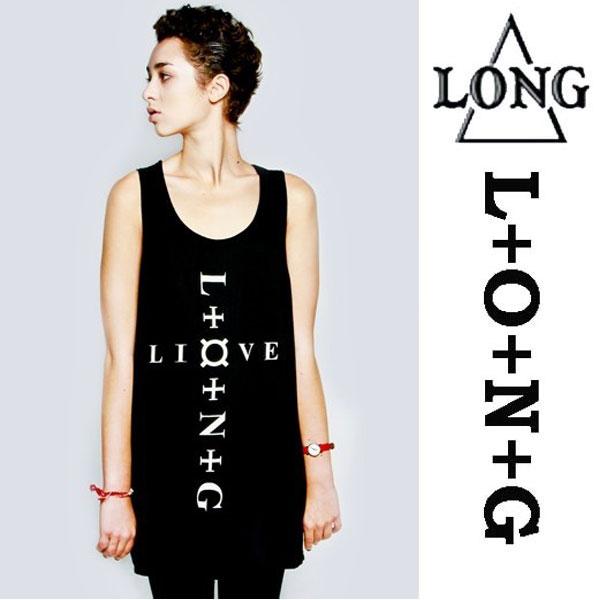 LONG CLOTHING(ロングクロージング)Command Vest タンクトップ パンク ロック ファッション ROCK ロックtシャツ ユニセックス BOY LONDON ベスト タンクトップ (トップス メンズ レディース オーバーサイズ バンドtシャツ(服 おしゃれ 通販 楽天)