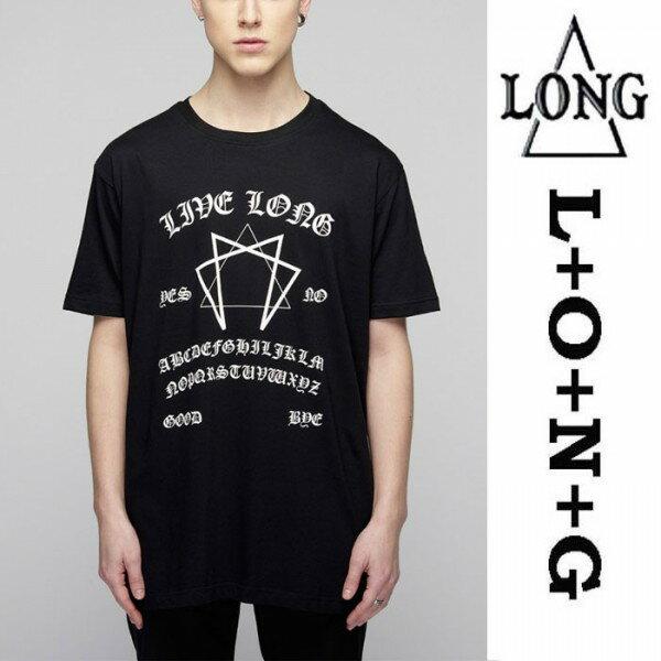 LONG CLOTHING(ロングクロージング)ouija グラフィック Tシャツ カットソー パンク ロック ファッション ロックtシャツ バンドtシャツ ユニセックス BOYLONDON ボーイロンドン (トップス メンズ ブランド オーバーサイズ ビッグtシャツ ロックファッション ストリート