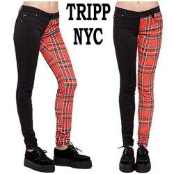 TRIPPNYC(トリップニューヨーク)アシンメトリースキニーパンツ