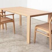 【1年保証】【テーブル】【ダイニングテーブル】【無垢材】OWENダイニングテーブルオーウェン180【関家具】