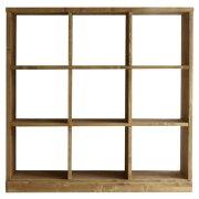 【1年保証】【ラック】【シェルフ】【収納家具】ローゼルシェルフ3×3【関家具】
