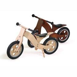 【1年保証】【キッズ家具】【木製】【バイク】【ノーパンクタイヤ】ウッディバイク【Noz】