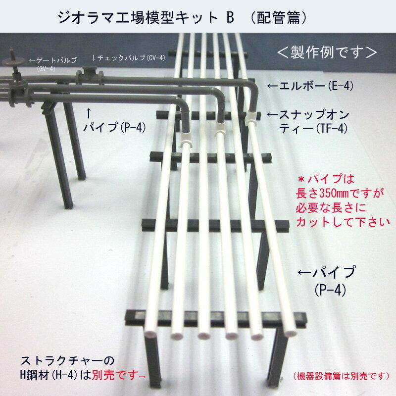 (新発売)ジオラマ工場模型キットB(配管篇)
