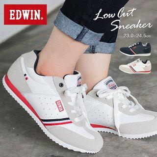 【送料無料】EDWIN軽量スニーカーレディース4160