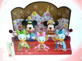 ディズニー ひな人形 (中) 雛人形 ひな祭り お雛さま ミッキー&ミニー、仲間たち 桃の節句 インテリアにも♪ 東京ディズニーリゾート お土産【Disney】
