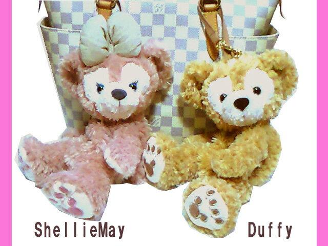【ディズニーシー限定】Duffy(ダッフィー)/ShellieMay(シェリーメイ)♪激レアぬいぐるみポーチ★ふっくら可愛いお顔厳選!!ディズニーリゾートお土産袋付き 【DISNEY】