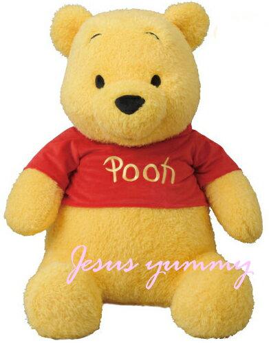 【パークで最大級】 くまのプーさん もこもこ Pooh ふわふわ ぬいぐるみ LLサイズ パーク内で最大級プーさん 東京ディズニーリゾートお土産袋付き♪【DISNEY】
