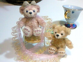 【ディズニーシー限定】Duffy(ダッフィー) or ShellieMay(シェリーメイ)♪お座り携帯ストラップ★ふっくら可愛いお顔厳選!!♪【Disney】