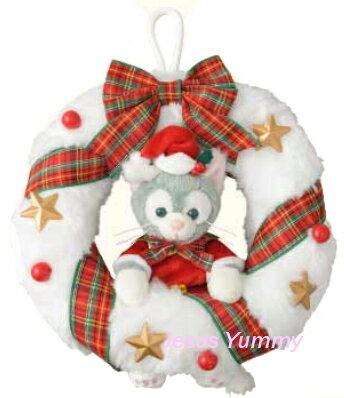 ジェラトーニ クリスマス リース Christmas2016スペシャルグッズ ダッフィーのクリスマス2016 X'mas ディズニーシー限定 お土産袋つき【DISNEY】