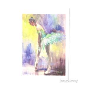 「ファーストステップ」 アトリエ・ヴァーズノワール 画家・村田旭作 オリジナル・ポストカード 絵はがき 葉書 絵画【クロネコDM便対応】