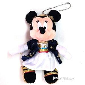 東京ディズニーシー18周年 ミニー ぬいぐるみバッジ アニバーサリー フォートレス・エクスプロレーション 限定 ミニーマウス お土産 【DISNEY】