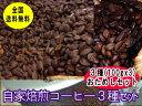 自家焙煎おためしコーヒーセット【100g×3種類】スペシャルMIXちょっと濃い味MIX、コロンビア コーヒー豆:【RCP】【H…