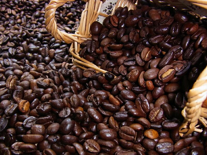 深煎り焙煎(深煎り50%)ちょっと濃い味ブレンド(1kg入) コーヒー豆:【RCP】【HLS_DU】