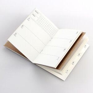 手帳リフィル 3冊セット ROTERDON システム手帳リフィル リフター メモリフィル ビジネス手帳 メモ帳 日記帳 交換用