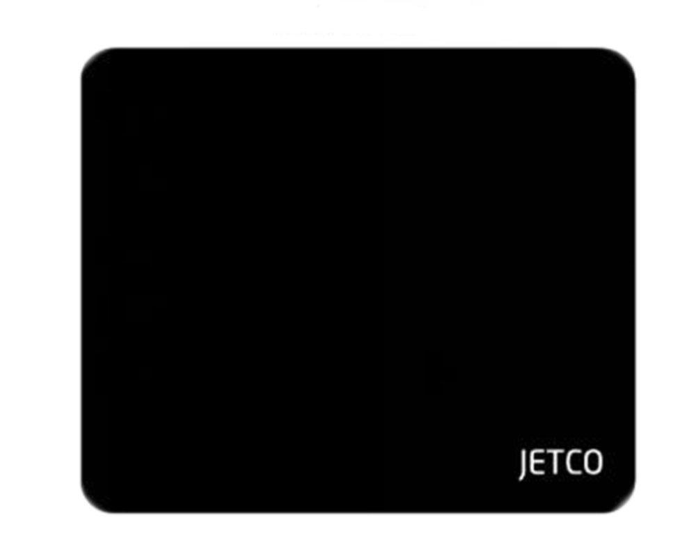 【メール便送料無料】【JETCO】ブランド マウスパッド (250mm×210mm, ブラック) 4サイズ 展開 PC PCアクセサリ ゲーミング ブラック シンプル オススメ Gaming MousePad
